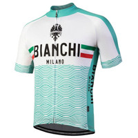 Bianchi Milano Attone Green White Jersey