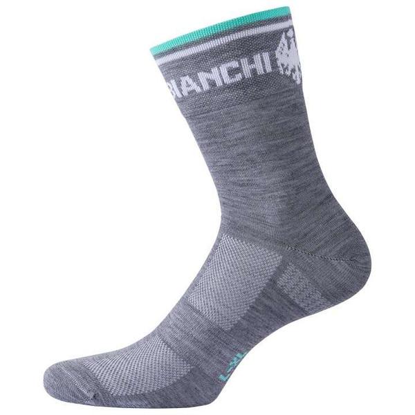 Bianchi Milano Plaus Black Winter Socks