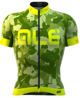 ALE PRR CAMO Yellow Fluo Jersey