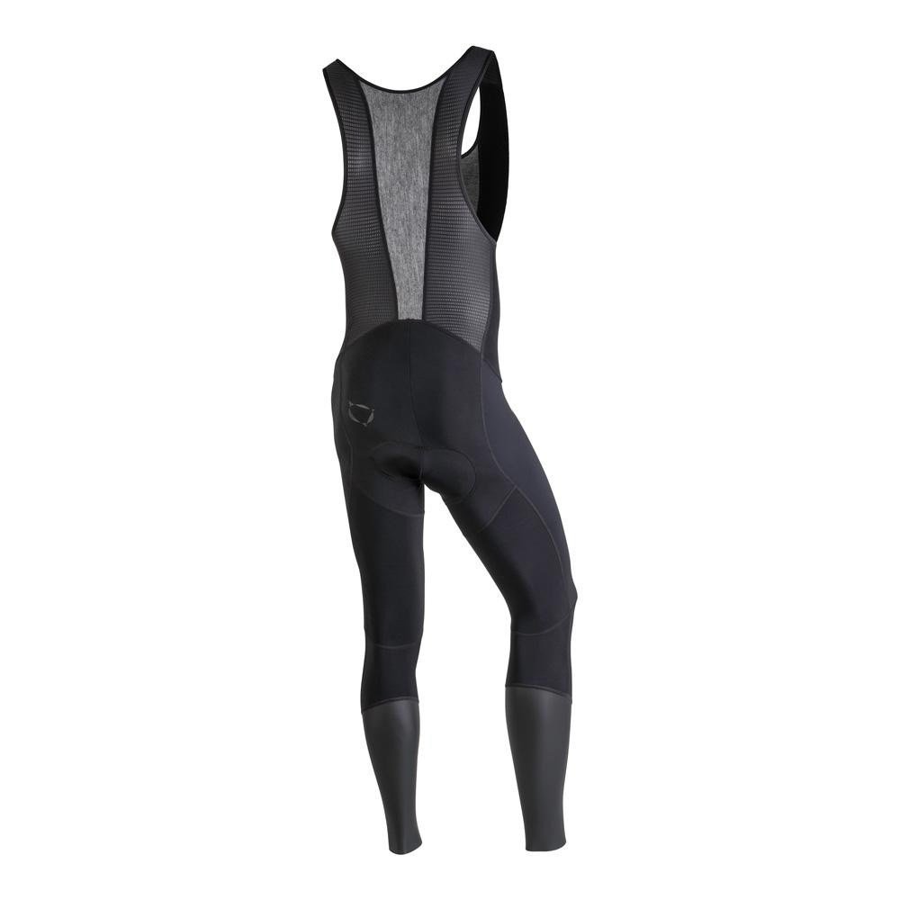Nalini AHW Xwarm Black Bib Tights Rear