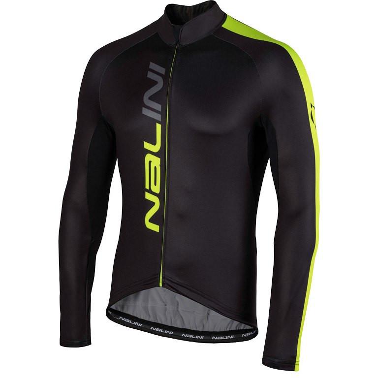 Nalini AHW LW Jersey Black Fluo Long Sleeve Jersey