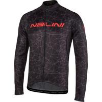 Nalini AHW Logo TI Jersey Black Long Sleeve Jersey