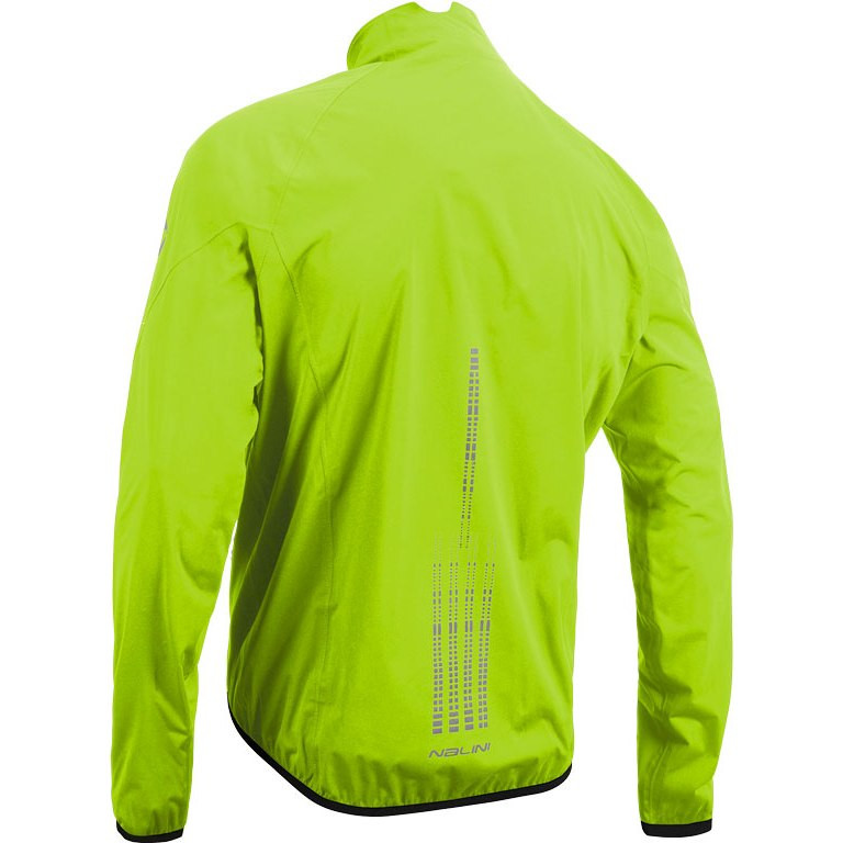 Nalini Acqua 2.0 Mid Weight Fluo Jacket Rear