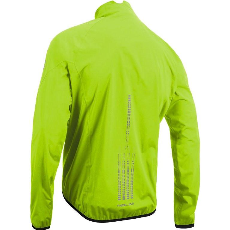 Nalini Acqua 2.0 Mid Weight Fluo Jacket Rear