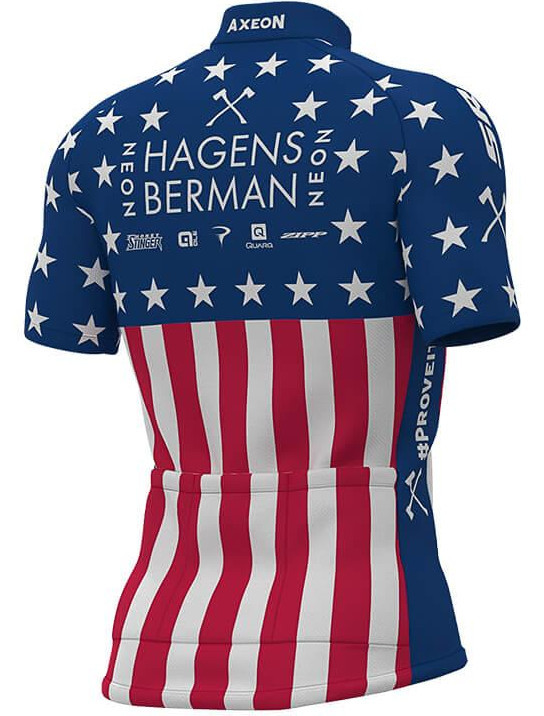 Hagens Berman Axeon USA Champion Jersey Rear