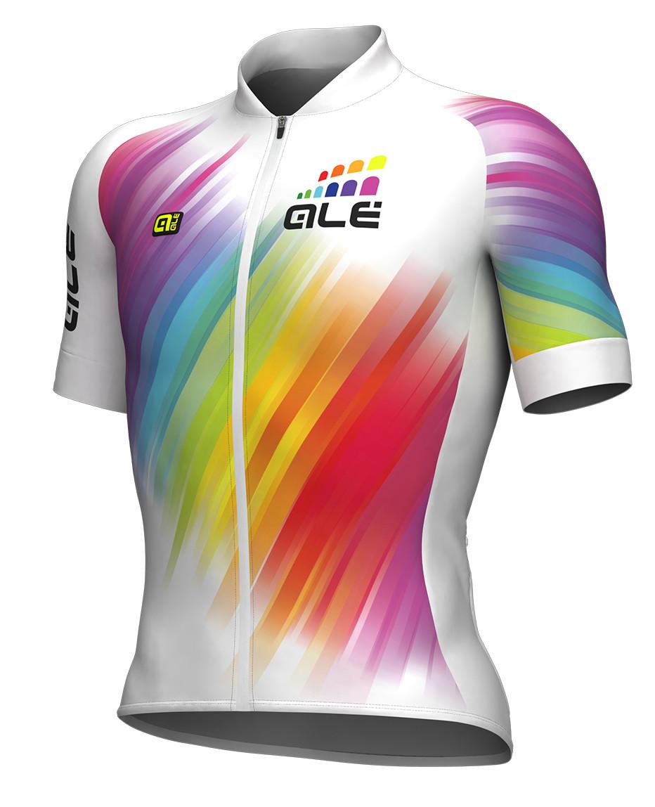 ALE Multicolor White Jersey