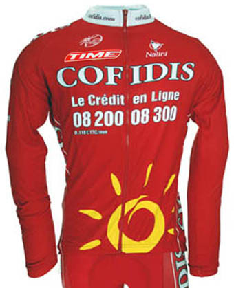 2009 Cofidis Classic Long Sleeve Jersey.  ccdae3c6a