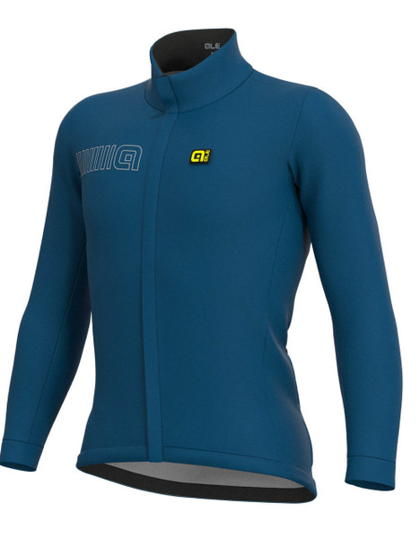 ALE' Winter Solid Thermal Blue Jacket
