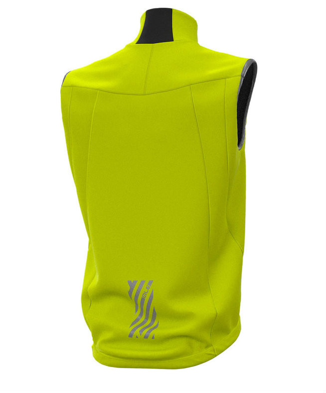 ALE' Klimatik Extreme Yellow Vest  Rear