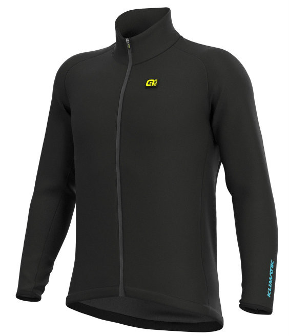 ALE' Klimatik Guscio Racing Black Jacket