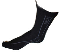Nalini Comp Grey Black Socks