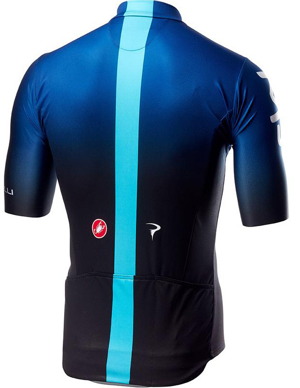2019 Sky Black Blue Squadra Jersey Rear