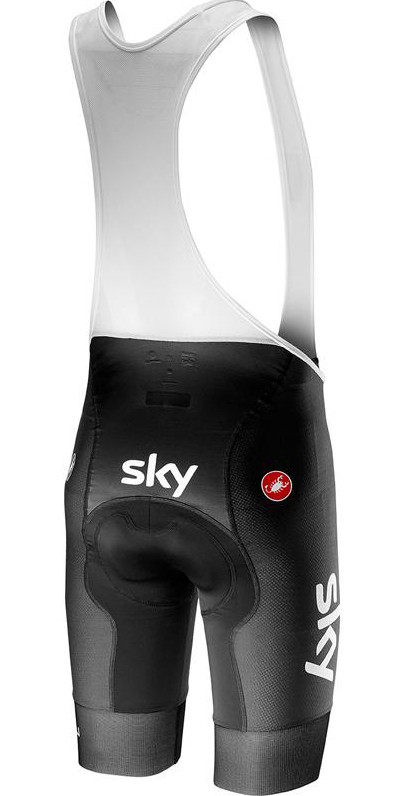 2019 Sky Volo Bib Shorts Rear