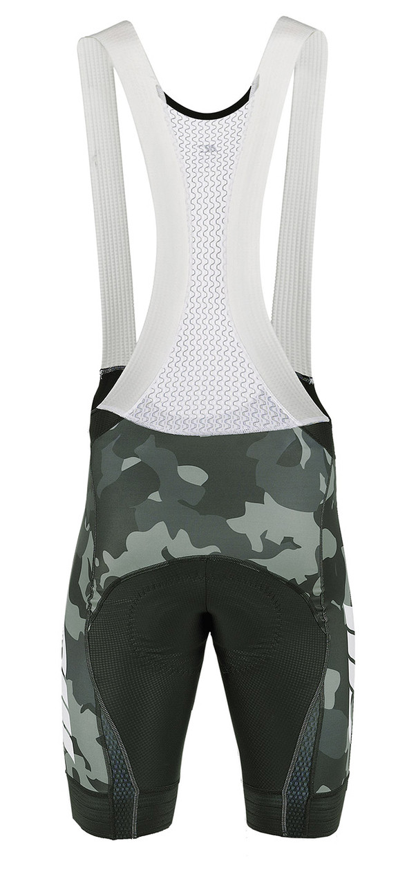 Mario Cipollini Camouflage Full Zipper Jersey Rear