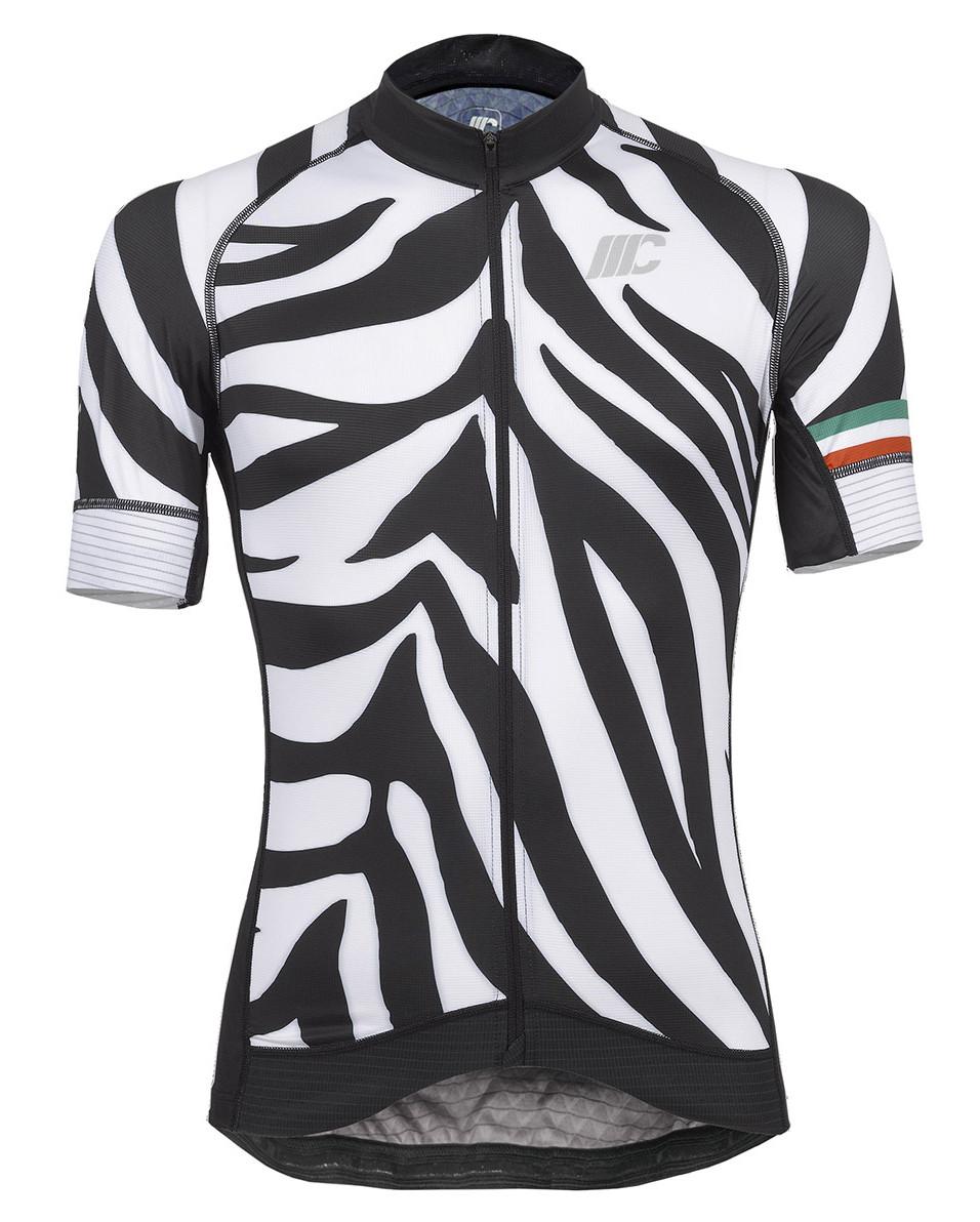 Mario Cipollini Zebra Full Zipper Jersey