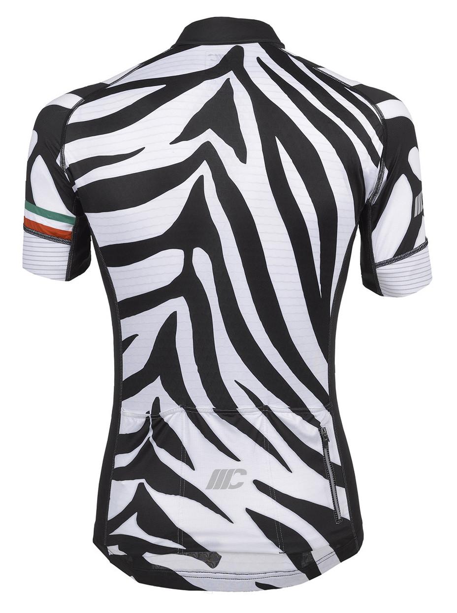 ... Mario Cipollini Zebra Full Zipper Jersey Rear 42d654738