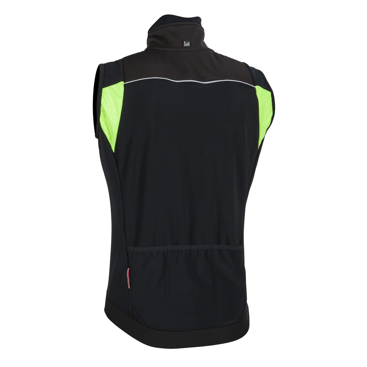 Nalini Road Warm Vest Rear