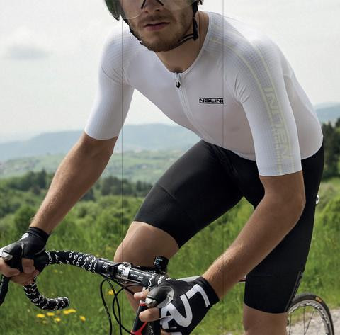 Nalini Crono White Body Skinsuit