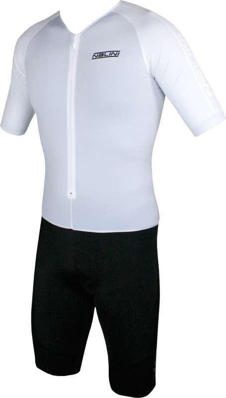 Nalini Crono White Body Skinsuit  Front
