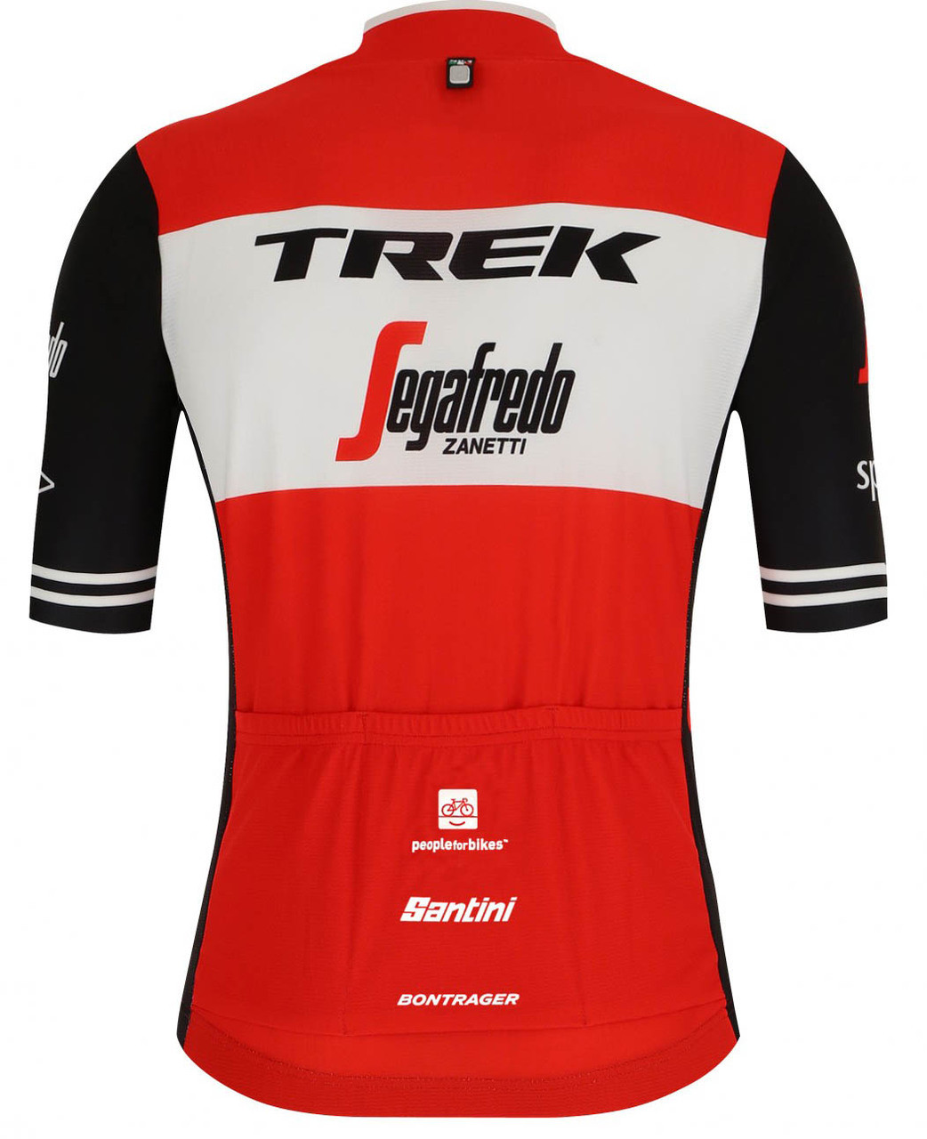 2019 Trek Segafredo FZ Jersey Rear