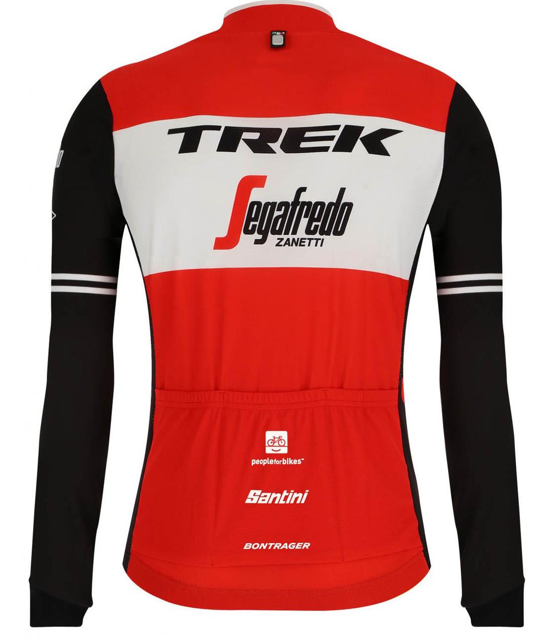 2019 Trek Segafredo Tour De France Long Sleeve Jersey Rear