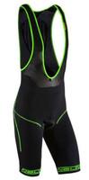 Nalini San Zeno Seamless Black Fluorescent Bib Shorts