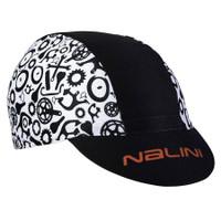 Nalini Vulcano AHS Black White Gears 4022 Cap