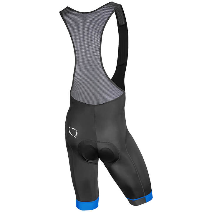 Nalini Gregario 2.0 Blue Black Bib Shorts Rear