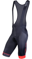 Nalini Gregario 2.0 Red Black Bib Shorts
