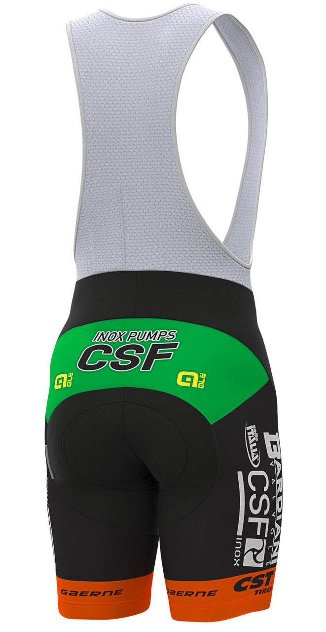 2019 Bardiani CSF Bib Shorts Rear