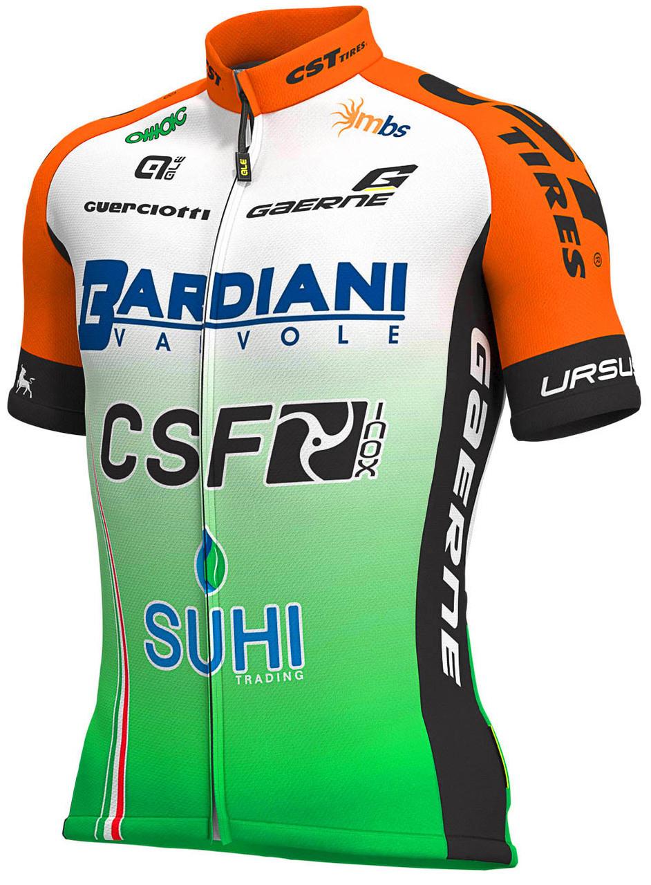 2019 Bardiani CSF Full Zipper Jersey