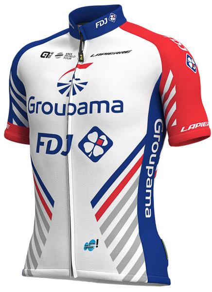 2019 Groupama FDJ Full Zipper Jersey