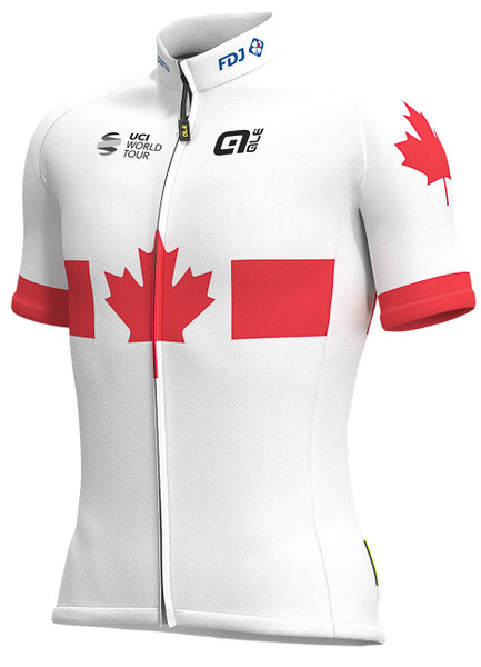 2019 Groupama FDJ Canadian Champion Full Zipper Jersey