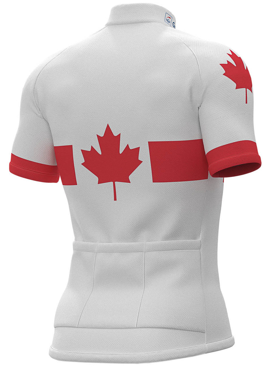 2019 Groupama FDJ Canadian Champion Full Zipper Jersey Rear