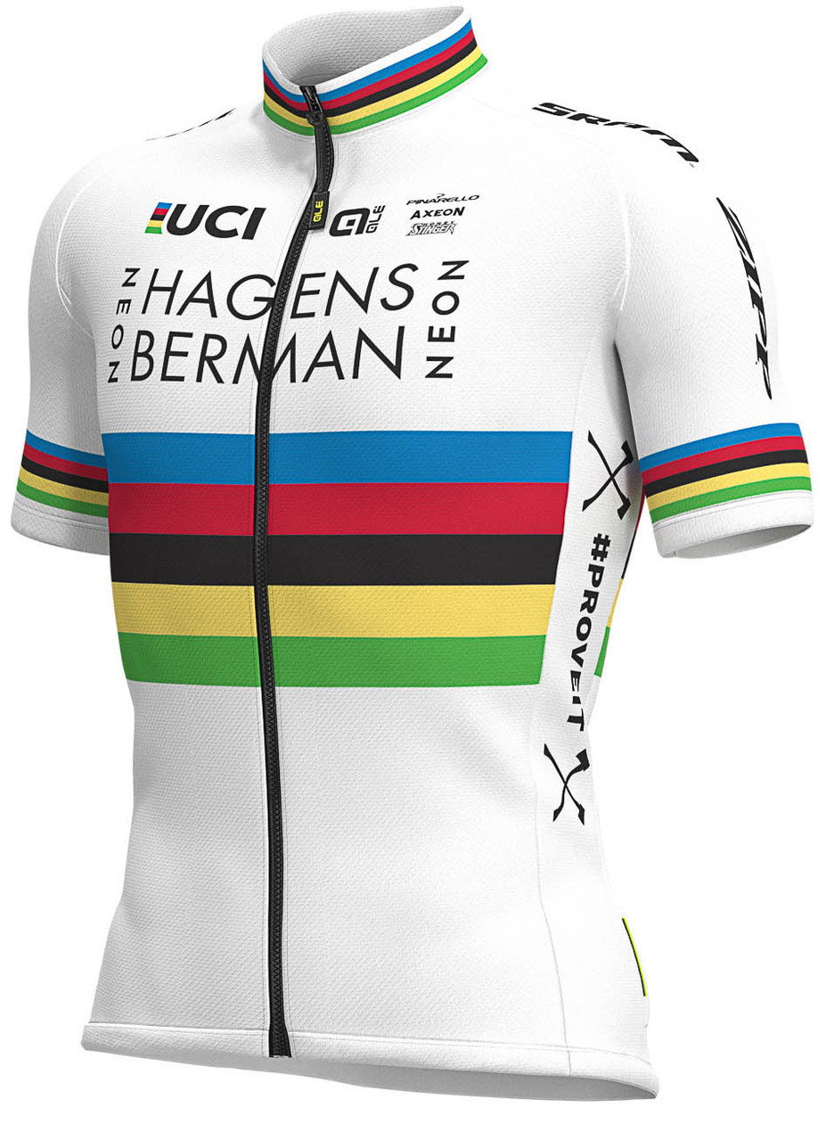 World Champion Hagens Berman Axeon Full Zipper Jersey