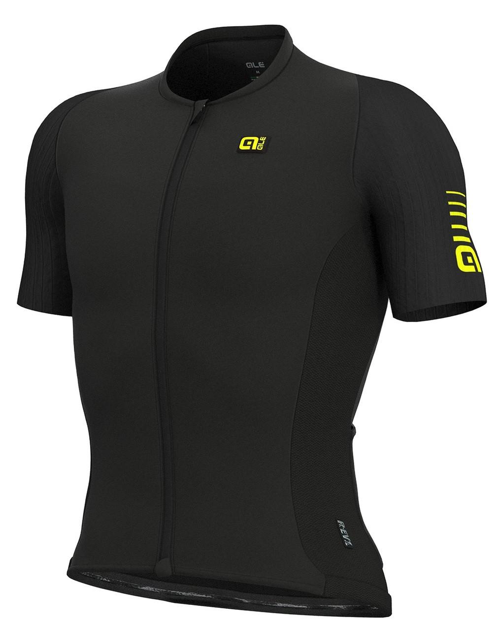 a62ed8e716c ALE Race R-EV1 Black Jersey | italian Cycling Jerseys