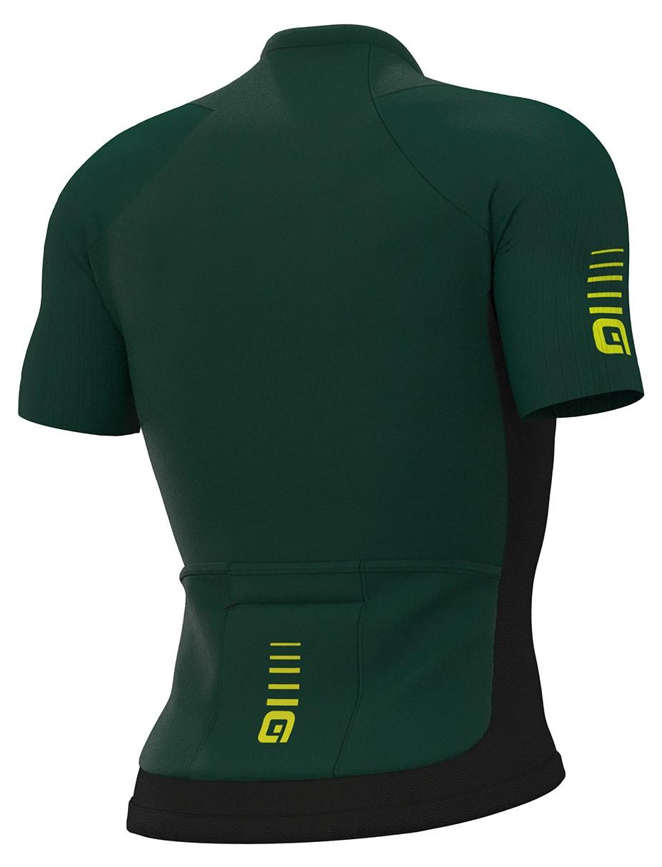 ALE' Race R-EV1 Green Jersey Rear
