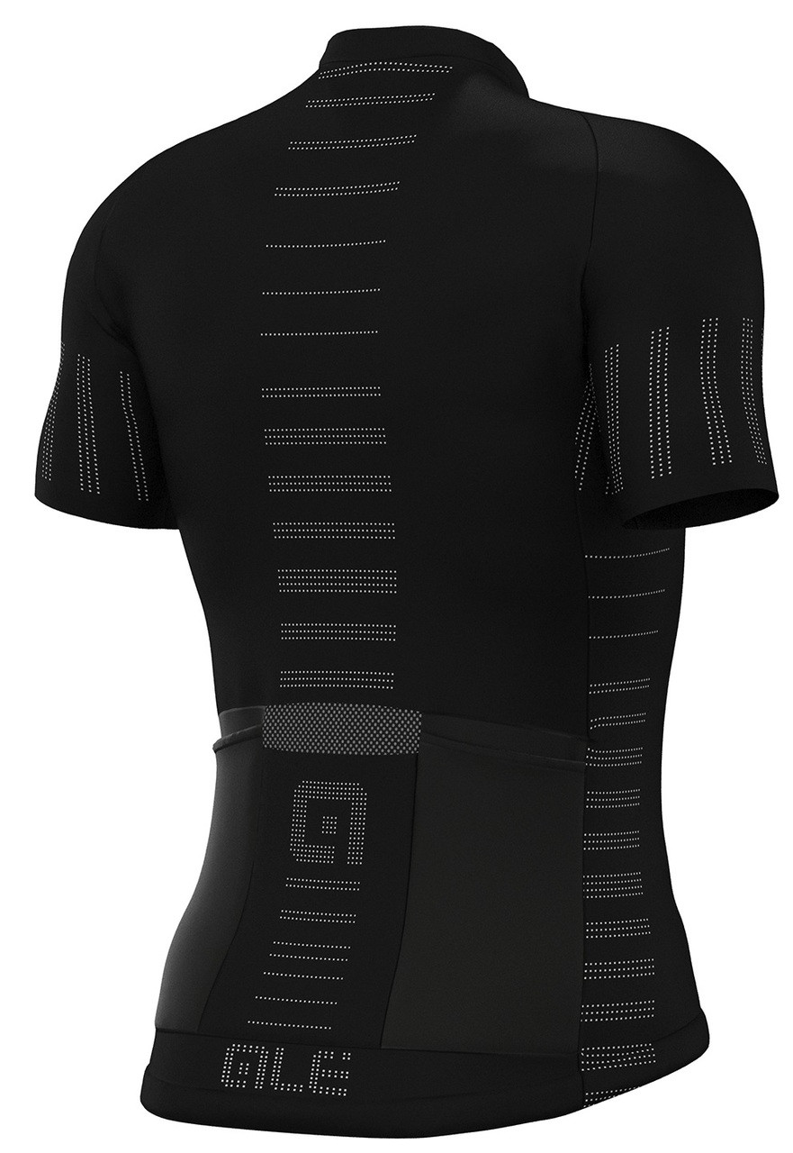 ALE' Cooling R-EV1 Black Jersey Rear