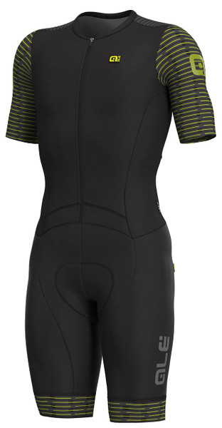 ALE' Fuga R-EV1 Black Fluo Yellow Skinsuit