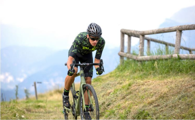 ALE' Glass PRR Black Green Jersey Rider