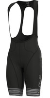 ALE' The End PRR Black White Bib Shorts