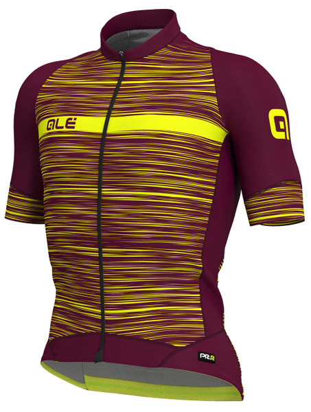 ALE' The End PRR Vino Fluo Yellow Jersey