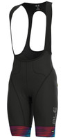 ALE' The End PRR Black Multi Color Bib Shorts