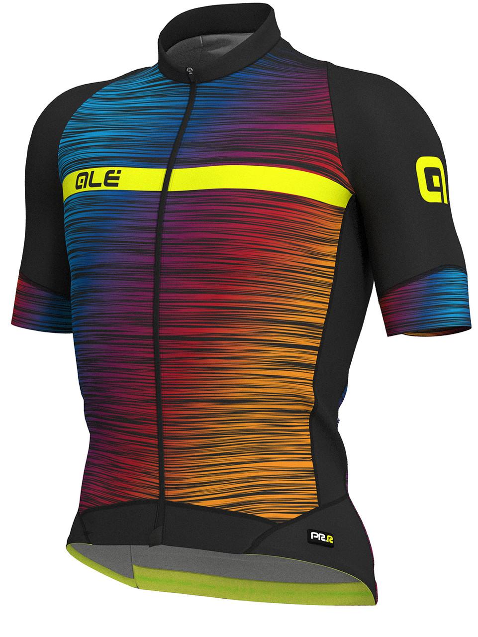 ALE' The End PRR Black Multi Color Jersey