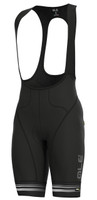 ALE Slide PRR Black White Bib Shorts