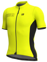 ALE' Color Block Solid Fluo Yellow Jersey