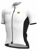 ALE' Color Block Solid White Jersey