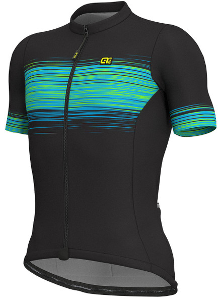 ALE' Start Block Solid Green Jersey