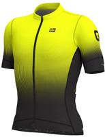 ALE' Dots PRS Black Fluo Yellow Jersey