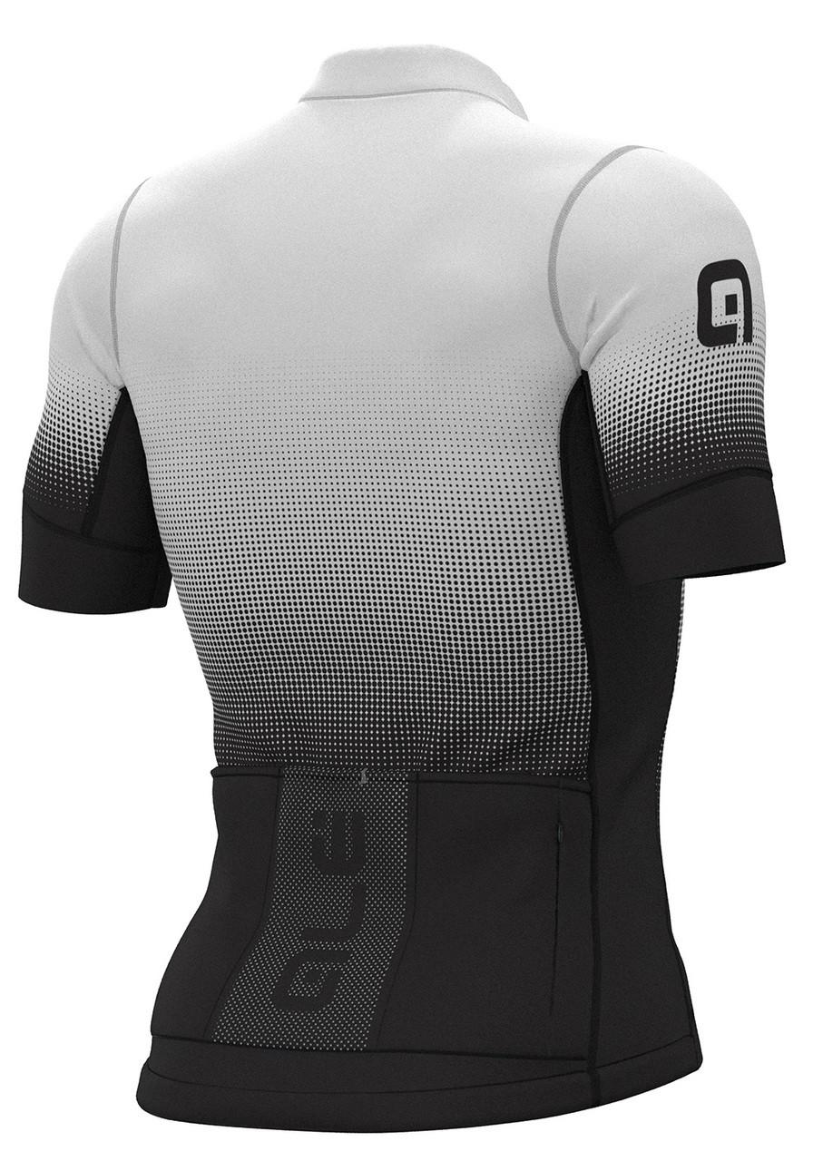 ALE' Dots PRS Black White Jersey Rear